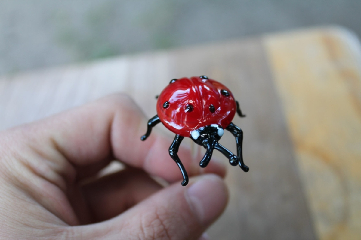 19-Ladybug-Ladybird-Nikita-Drachuk-Glass-Symphony-with-Lampwork-Glass-Animals-www-designstack-co