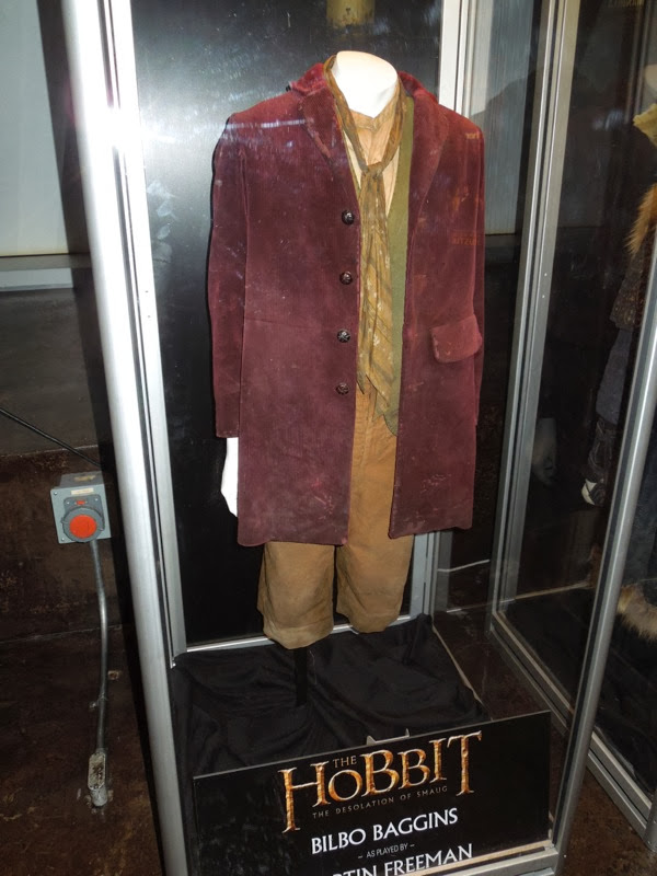Martin Freeman Bilbo Baggins costume Hobbit Desolation of Smaug