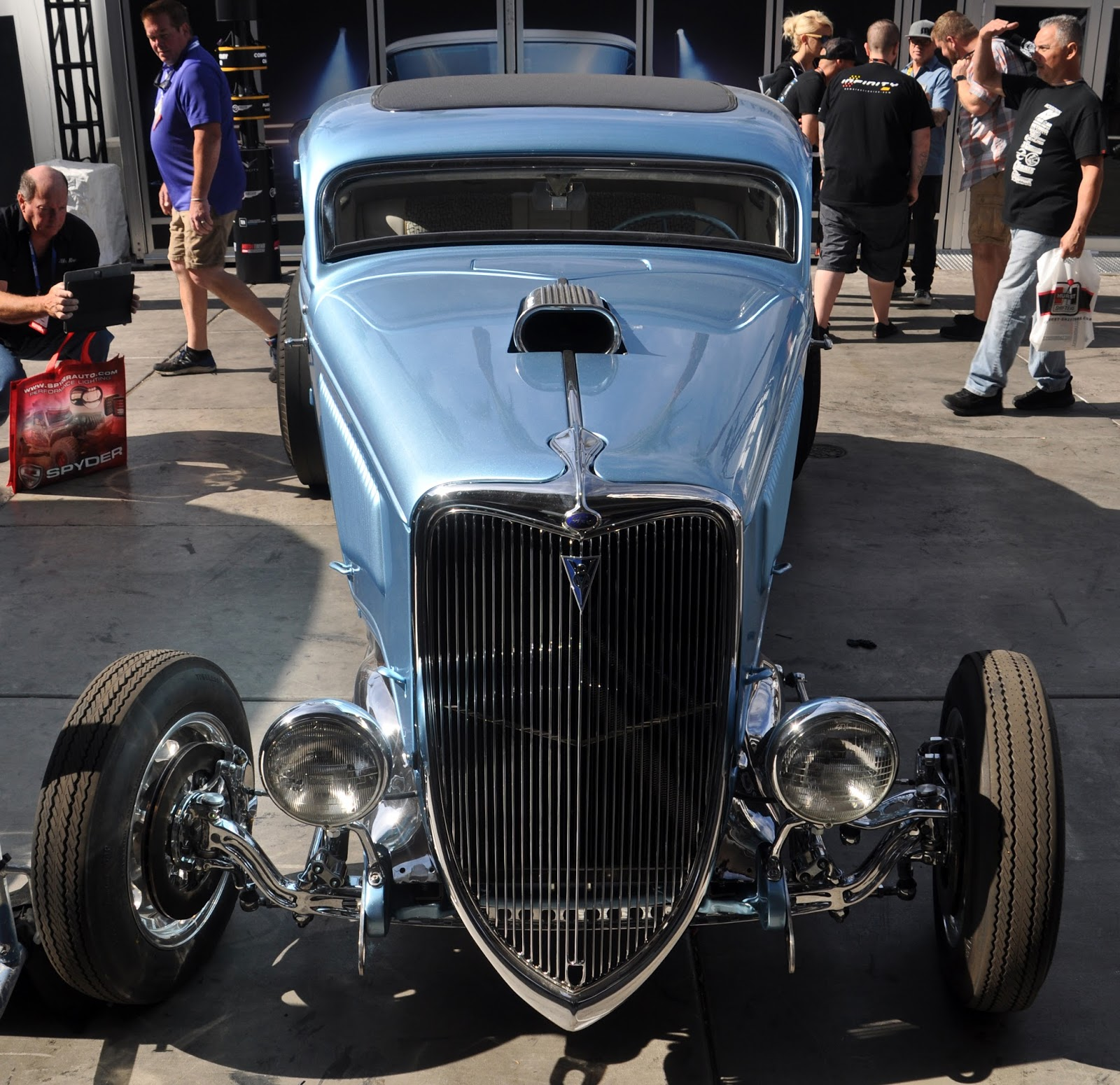 Just A Car Guy: 34 Ford from the TV show people at Fast and Loud
