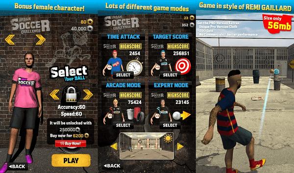 Urban Soccer Challenge v1.07 Mod Apk (Mega Mod)2