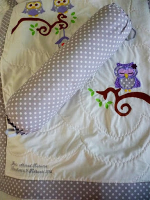 owl bedding for baby