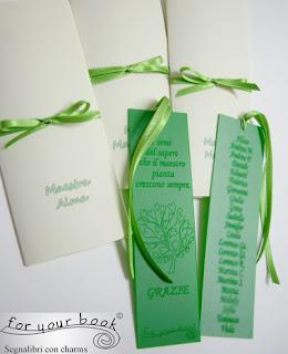 segnalibro inciso dedica elenco alunni regalo maestre