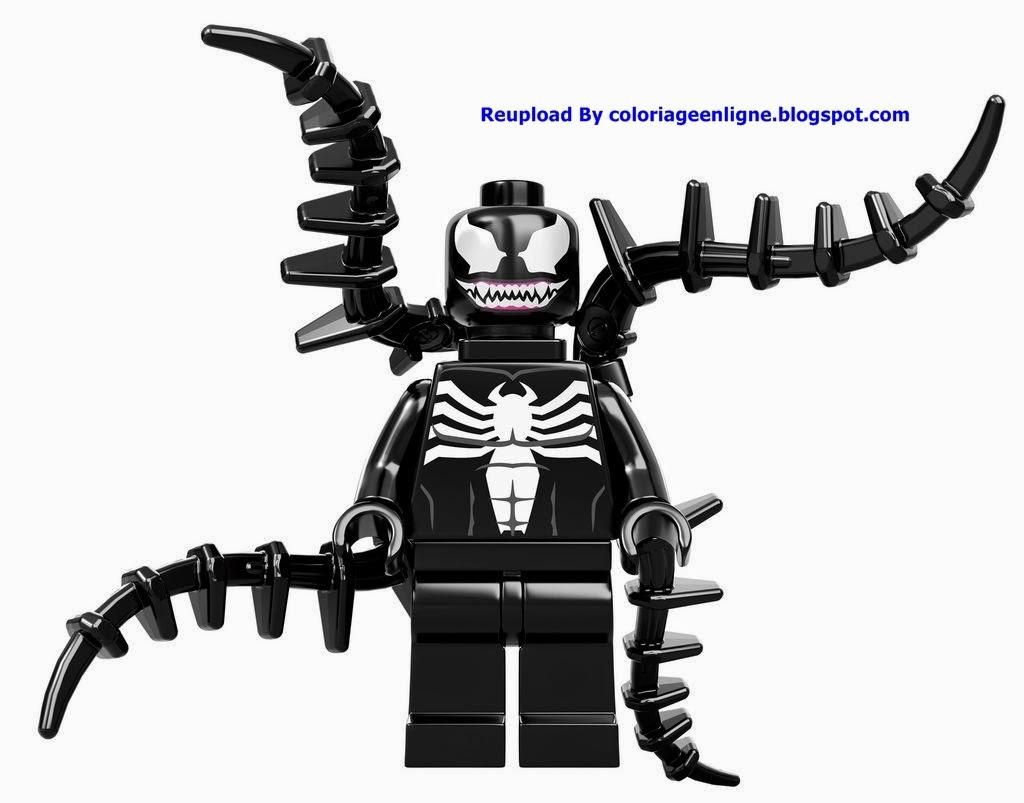 Coloriage Spiderman Lego | Coloriage en Ligne
