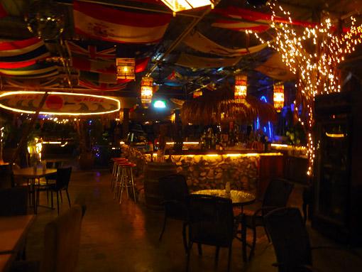 Batu Ferringhi direct at the beach restaurant