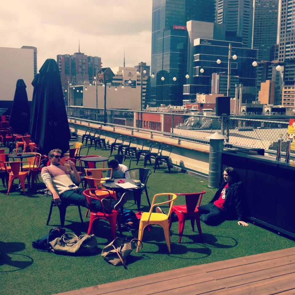 Blogging In Bars: Rooftop Bar