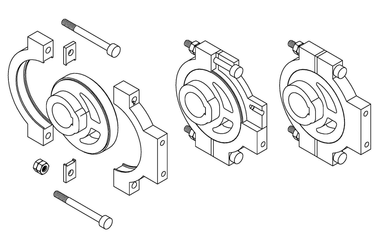 Machine Drawing: Eccentric