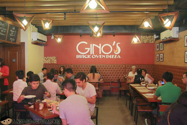 Gino's Brick Oven Pizza Interior