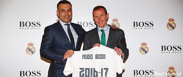Hugo Boss vestirá al Real Madrid