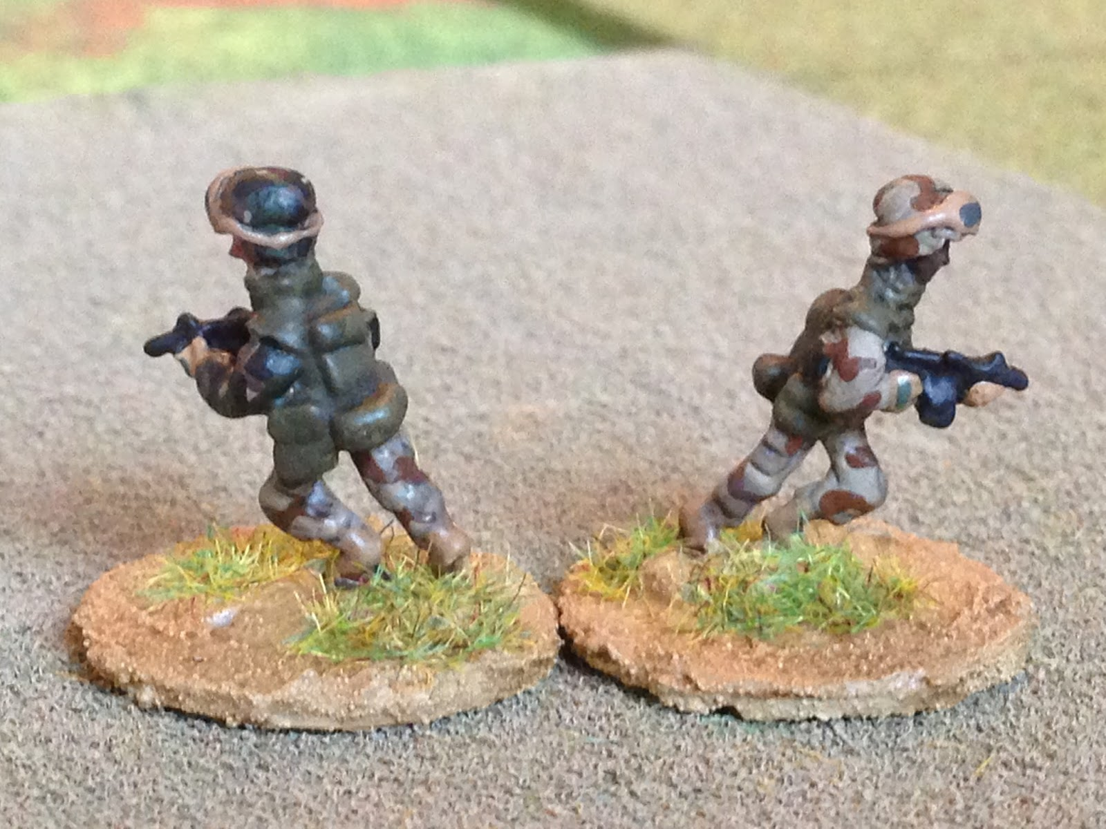 187 Topic Qrf 15mm Modern French Desert Force