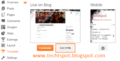 Add Page Numbered Navigation To Blogger Blog 1