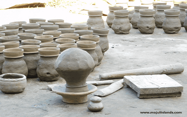 Pottery Industry Of Majuli Island