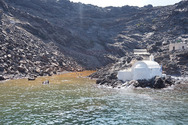 Excursion en bateau avec Dakoutros - Eaux chaudes
