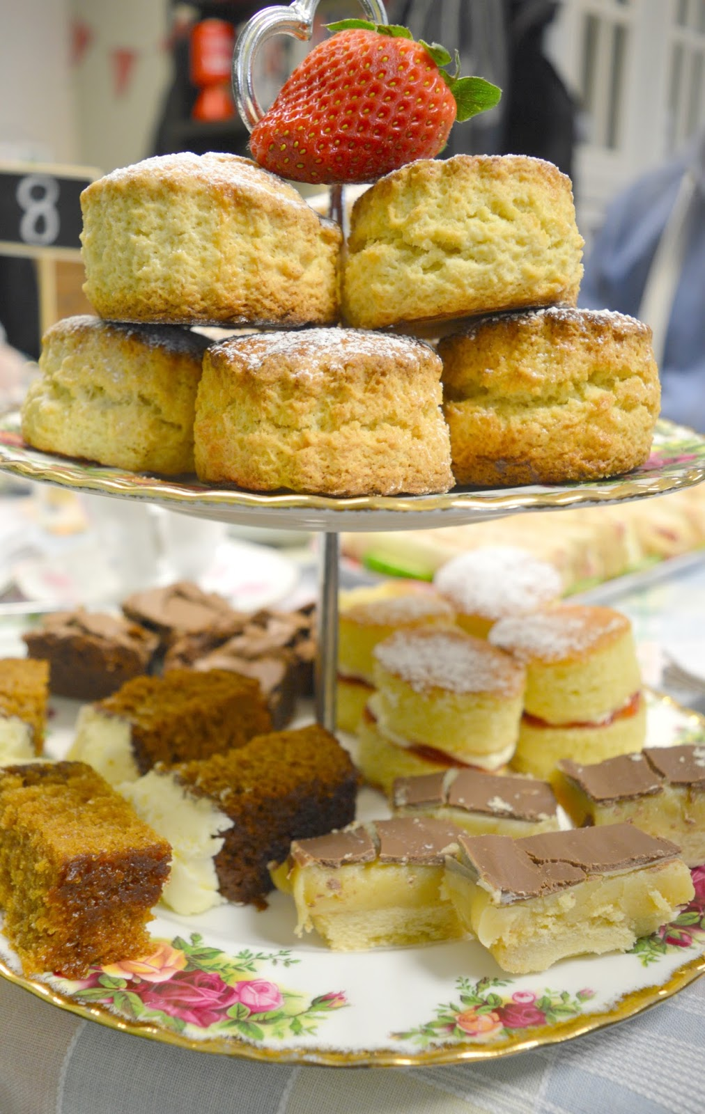 Afternoon Tea at VIP Teas, High Spen - Cake Stand