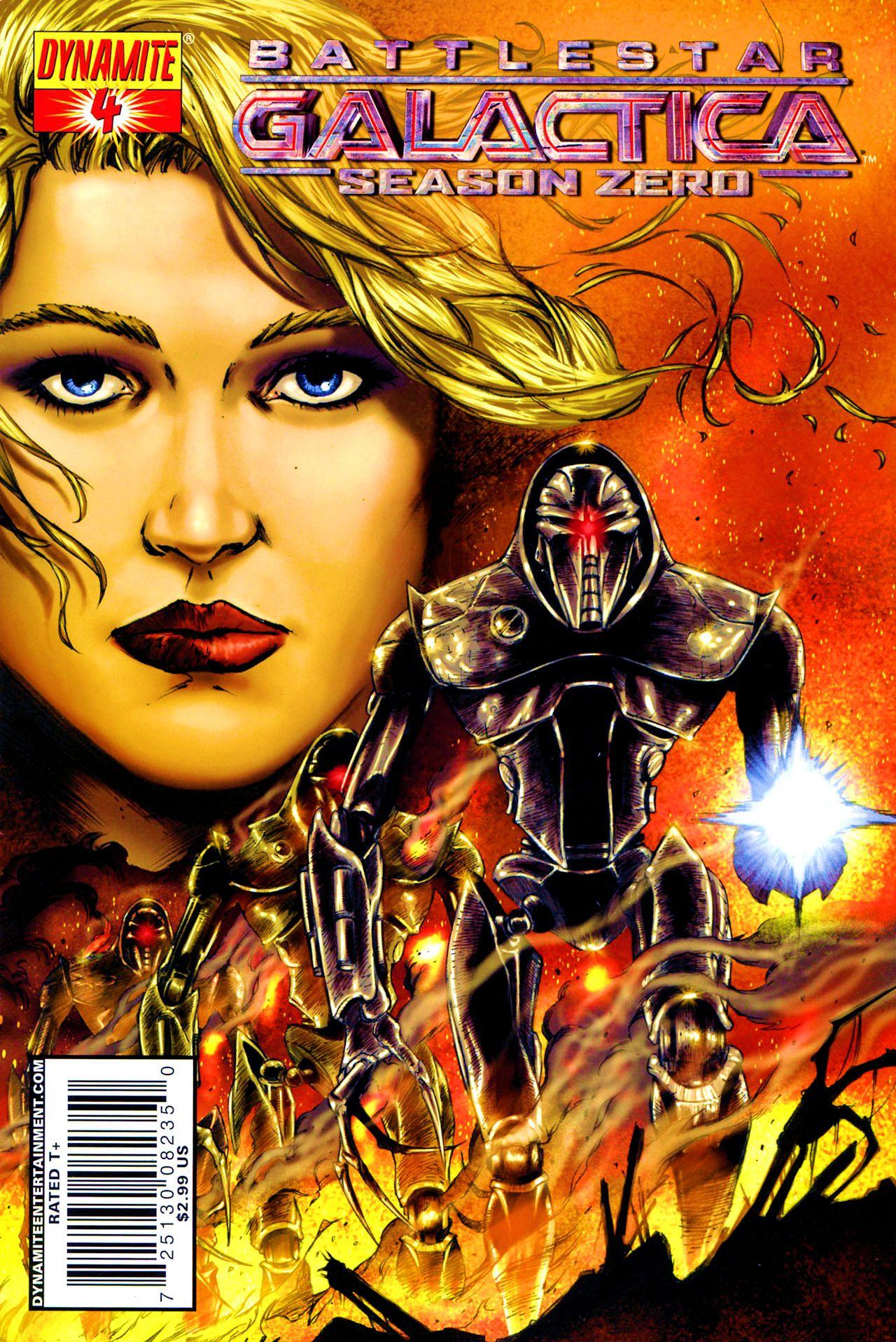 Battlestar Galactica: Season Zero 4 Page 1