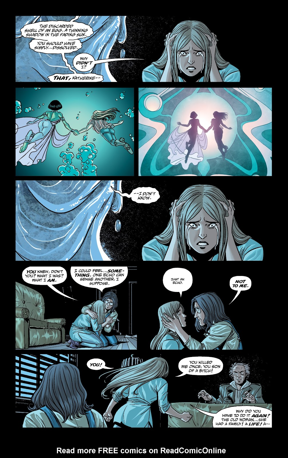 Read online The Girl In The Bay comic -  Issue #4 - 19