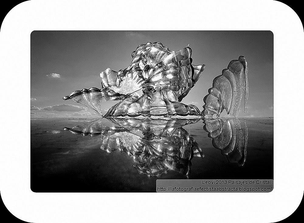 Abstract Photo 3117 Crystal Landscape 154    XOXO
