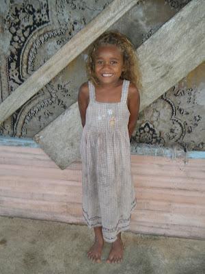 Fijian girl