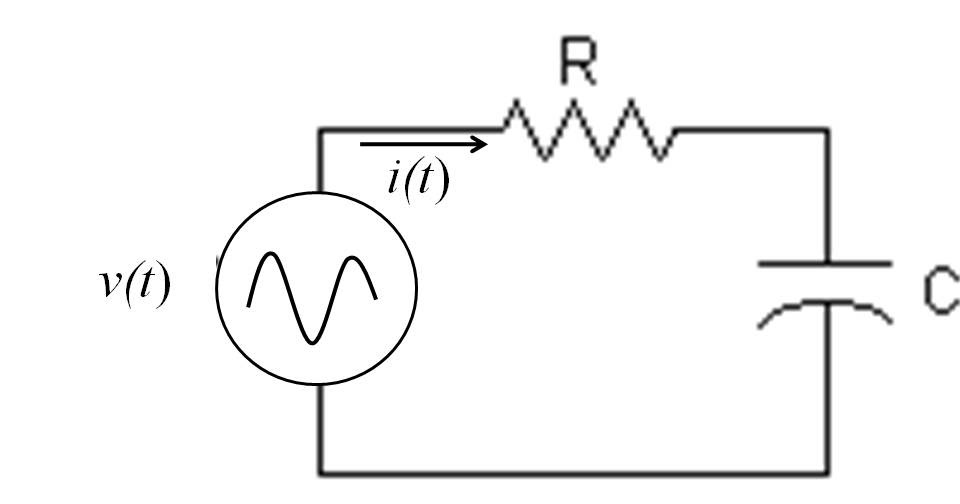 rc circuit acts as a resistor and capacitor and common