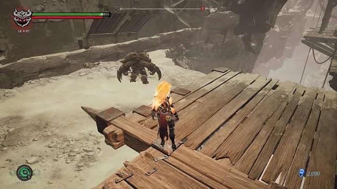 Убить Абраксиса или Повелителя пустоты в Darksiders 3