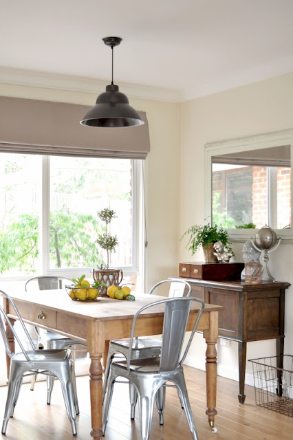 Rooms: The Industrial Dining Room Light
