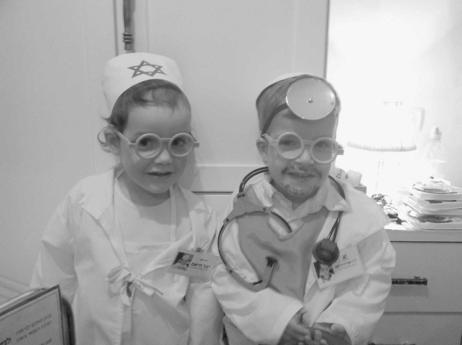 IMG 5309 - התחפשנו לרופאים!!!