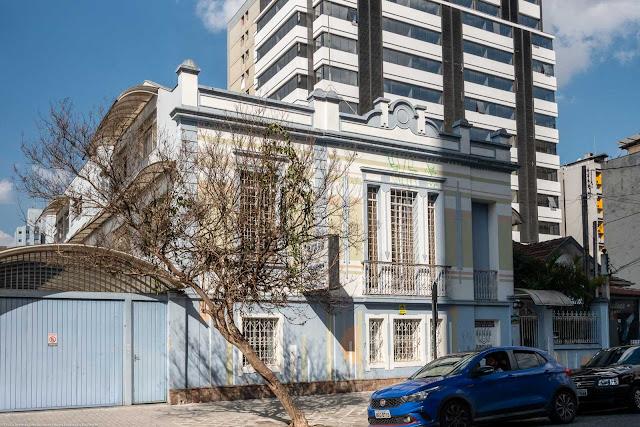 Sede da Congregação da Irmãs do Imaculado Coração de Maria de Nagasaki na Rua Nunes Machado.