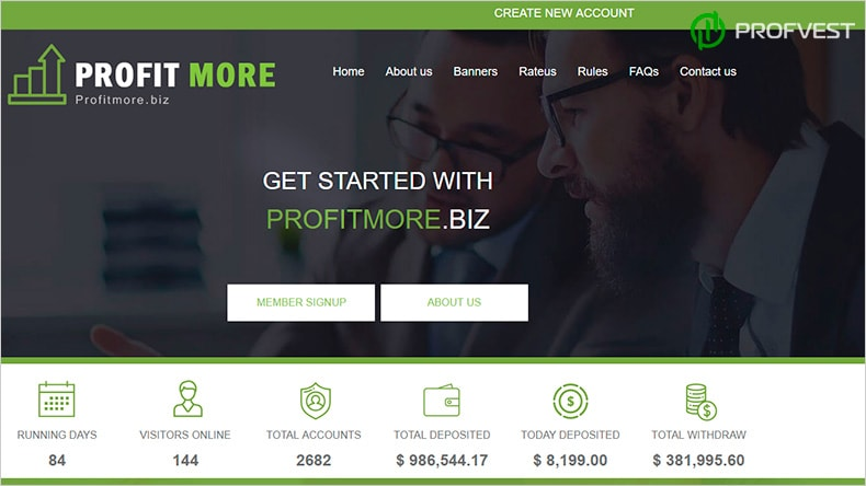Profitmore обзор и отзывы HYIP-проекта
