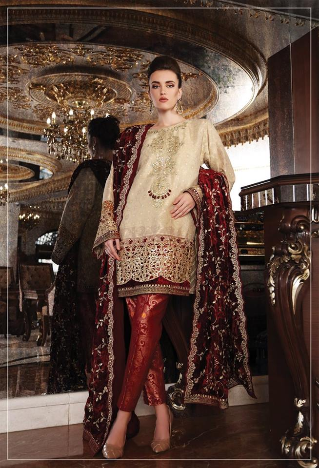 Maria B Latest Formal Wedding Dresses Collection Unstitched Replica