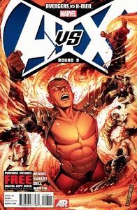 Cover of Avengers vs. X-Men 8 comic eBook