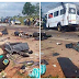 Many Dead Following Fatal Accident Involving Multiple Vehicles. Graphic Photos