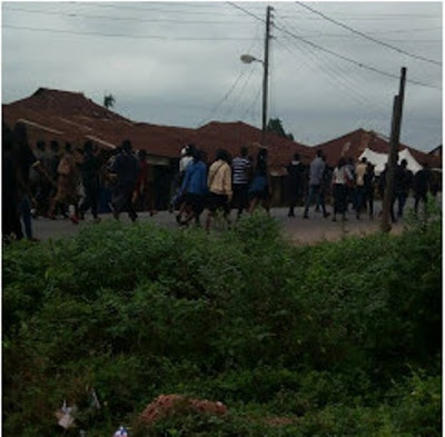 UNIOSUN Students Rage Protest Over On-going Attacks, Abductions