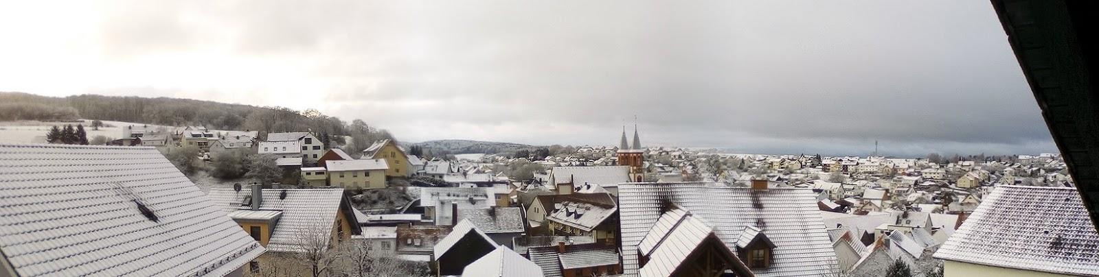 Dookoła Biało Bo śniegu Napadało
