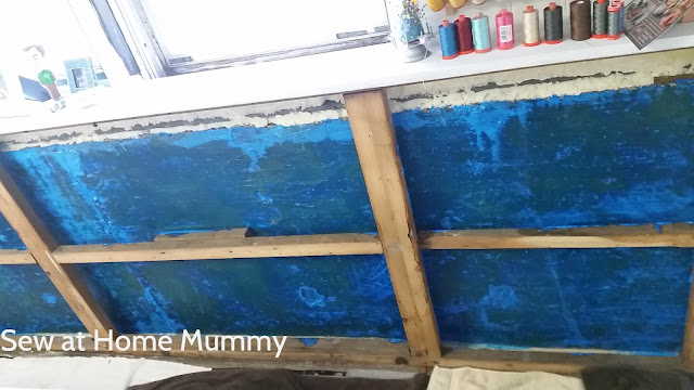 """Ames Blue Max - how to dry up a wet basement - stops minor seeping and effervescence. Radon blocker. Easy to DIY - cracks over 1/8"""" should be caulked or sealed. (Amazon sells it, free shipping!) Basement refinishing ideas, basement renovation."""
