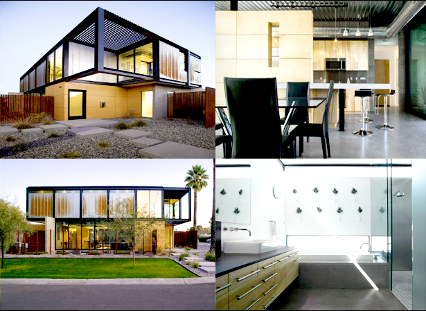 Desain Rumah Gaya Industrial Minimalis