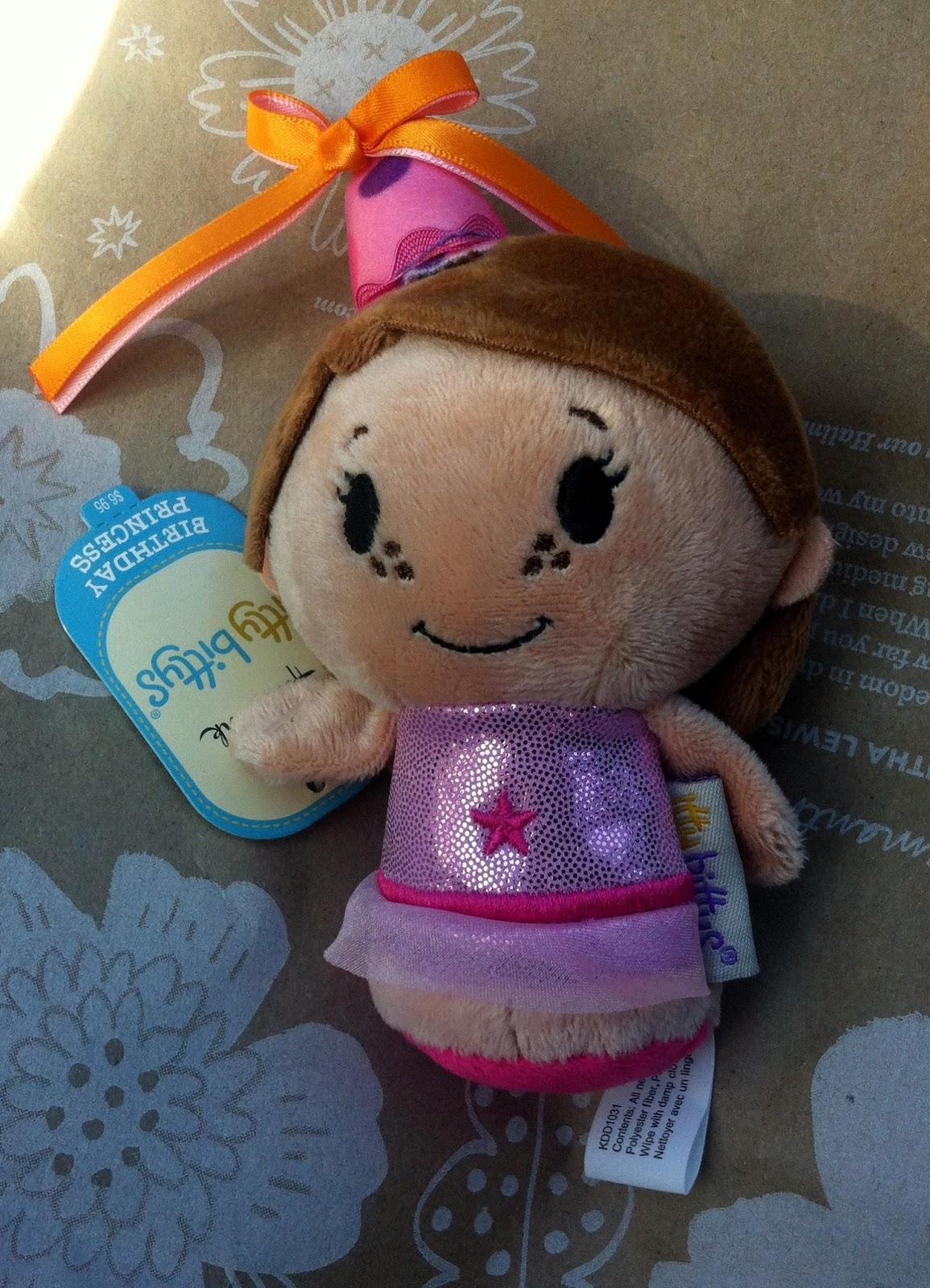 BIRTHDAY PRINCESS Girl Itty Bittys by Hallmark
