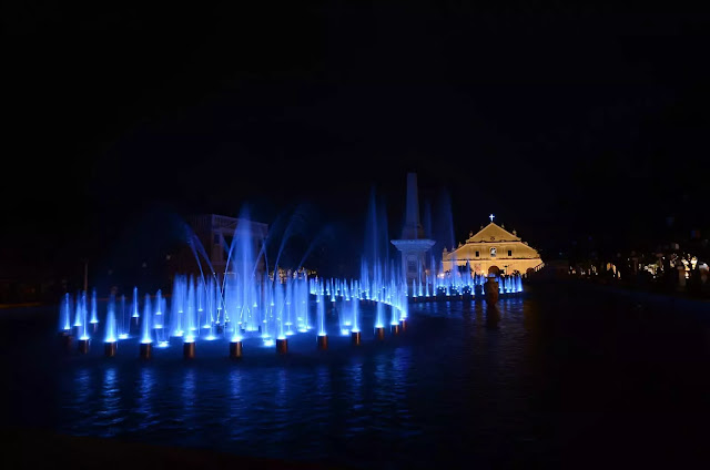 13 Plaza Salcedo Dancing Fountains