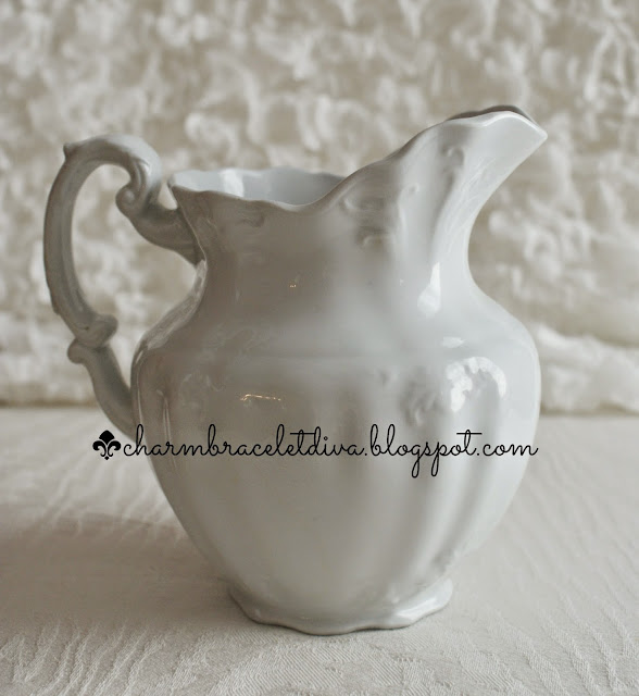 vintage Johnson Bros. ironstone pitcher