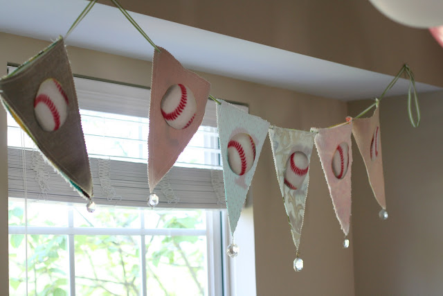 Baseball Birthday Party Decorations Banner