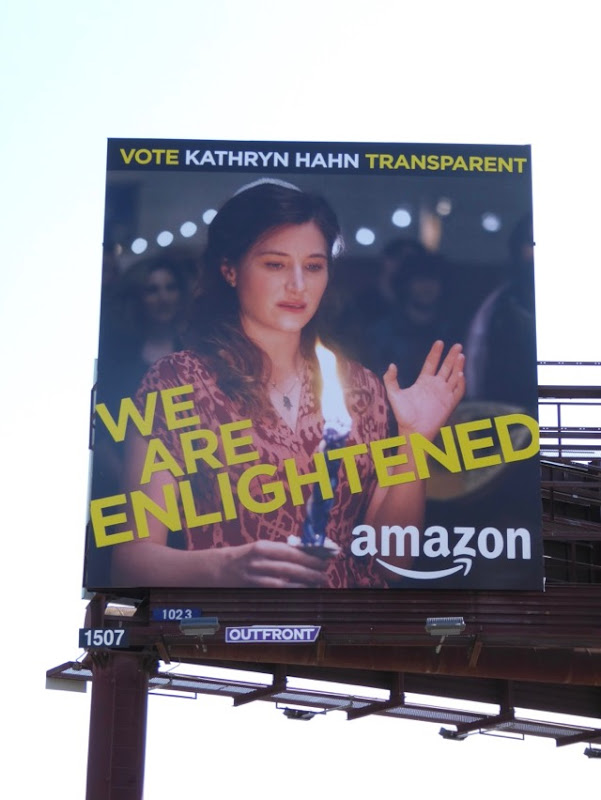 Kathryn Hahn Transparent Enlightened billboard