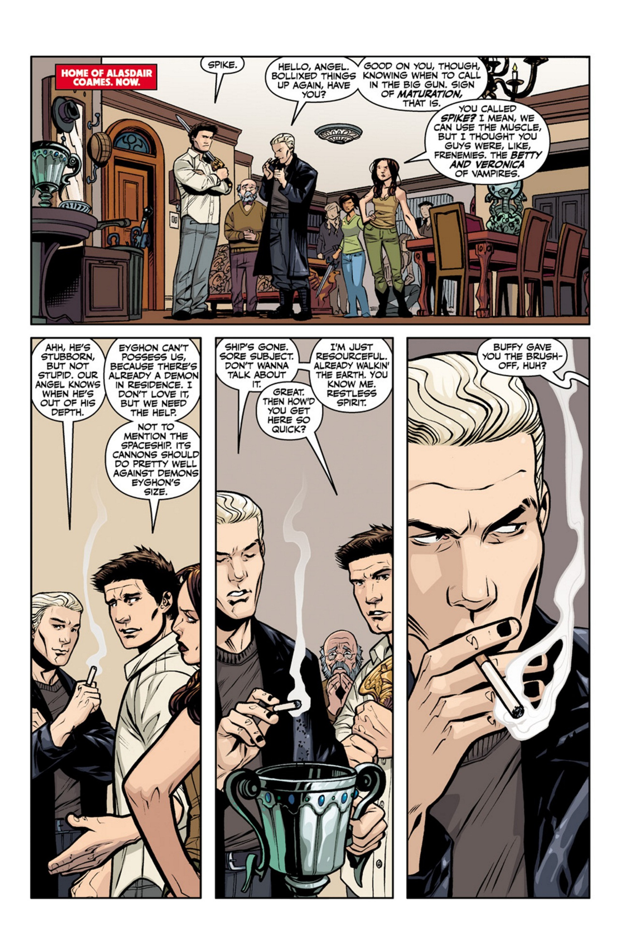 Read online Angel and Faith comic -  Issue #19 - 7
