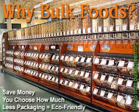 Buy in bulk to save money.