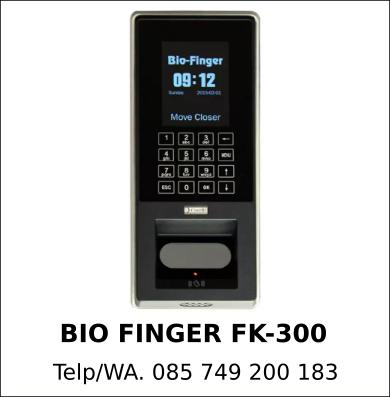Juragan Mesin Absensi Bio Finger FK-300 Murah Original