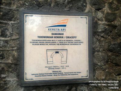 Prasasti Terowongan Hendrik atau Cikacepit