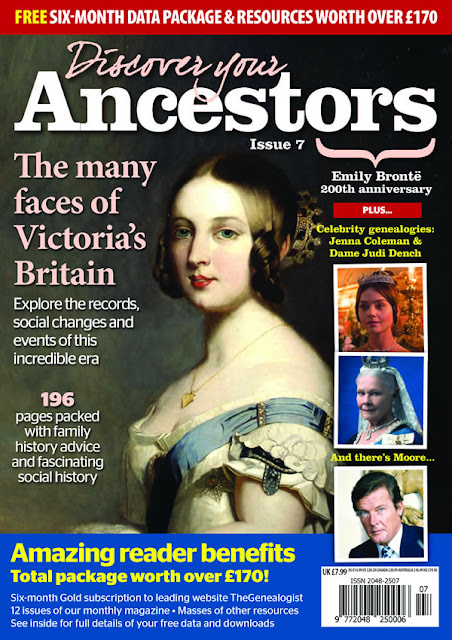 A UK periodical with in-depth coverage of family history issues including articles by Ruth A Symes