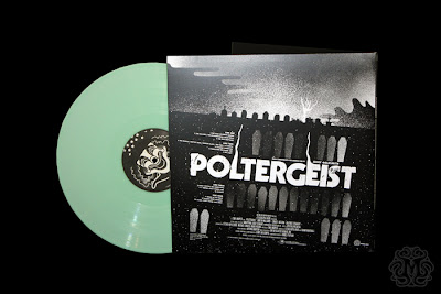 Record Store Day 2013 Exclusive Glow in the Dark Poltergeist Soundtrack 2LP by Mondo x Jerry Goldsmith