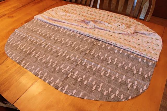 Make a fabric Car Seat Cover