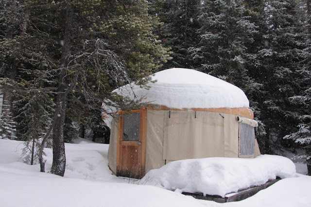 Family Adventures in the Canadian Rockies: Yurt-Camping in ...