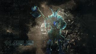 Galactic Nasus Fanart by Flaakmonkey
