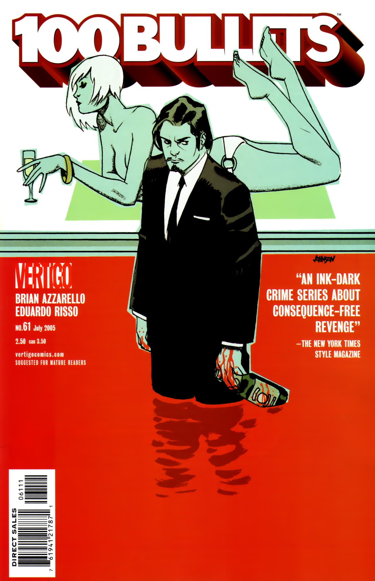 Read online 100 Bullets comic -  Issue #61 - 1