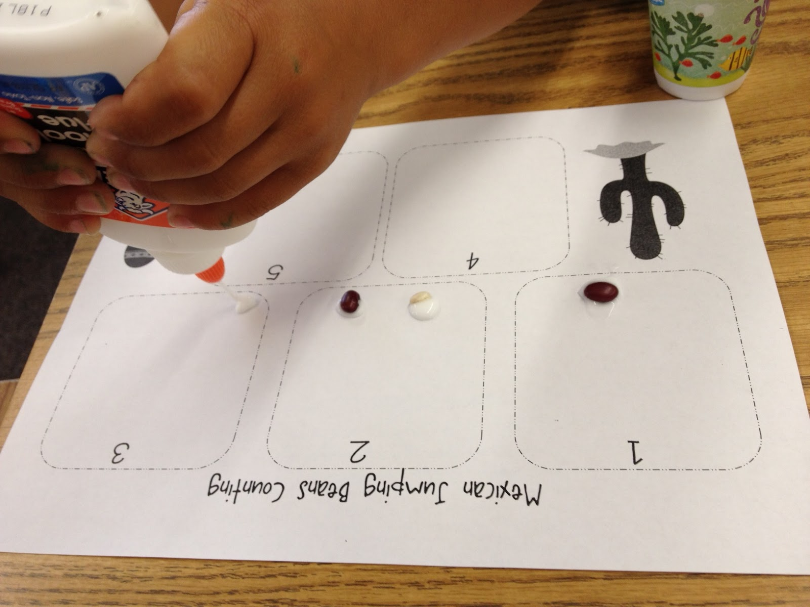 New 286 Counting Beans Worksheet